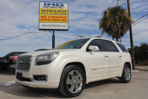 2013 GMC Acadia for sale at Flash Auto Sales in Garland TX
