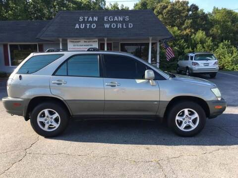 2001 Lexus RX 300 for sale at STAN EGAN'S AUTO WORLD, INC. in Greer SC