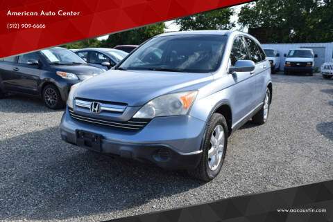 2007 Honda CR-V for sale at American Auto Center in Austin TX