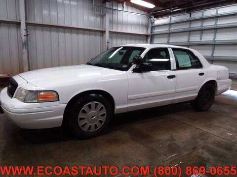 2010 Ford Crown Victoria for sale at East Coast Auto Source Inc. in Bedford VA