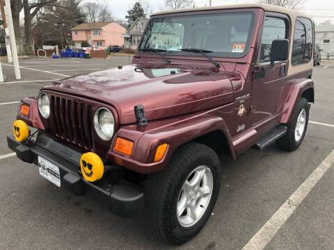 2001 Jeep Wrangler for sale at EZ Auto Sales , Inc in Edison NJ