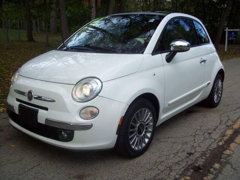 2012 FIAT 500 for sale at Edgewater of Mundelein Inc in Wauconda IL