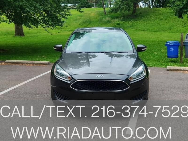 2015 Ford Focus for sale at Riad Auto Sales in Cleveland OH