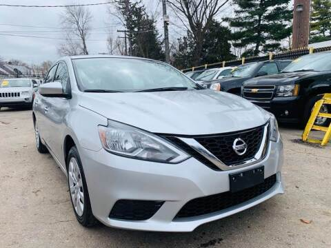 2016 Nissan Sentra for sale at 3 Brothers Auto Sales Inc in Detroit MI