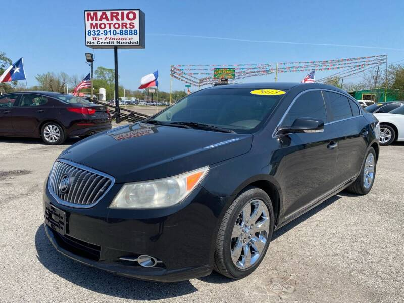 2013 Buick LaCrosse for sale at Mario Motors in South Houston TX