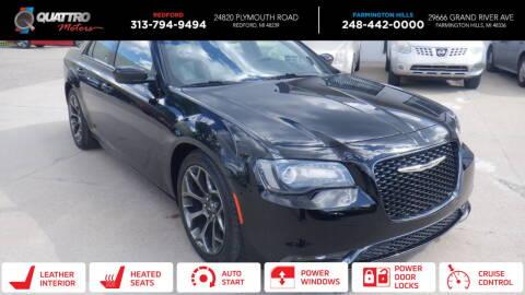 2015 Chrysler 300 for sale at Quattro Motors 2 - 1 in Redford MI