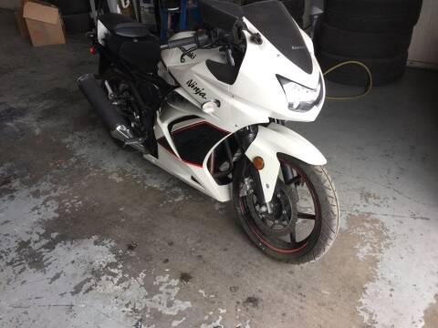 2011 Kawasaki Ex 250-j for sale at Small Car Motors in Carson City NV