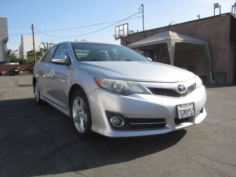 2014 Toyota Camry for sale at Win Motors Inc. in Los Angeles CA