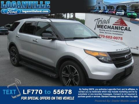 2014 Ford Explorer for sale at Loganville Quick Lane and Tire Center in Loganville GA