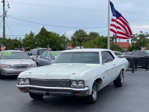 1970 Chevrolet Impala for sale at KD's Auto Sales in Pompano Beach FL