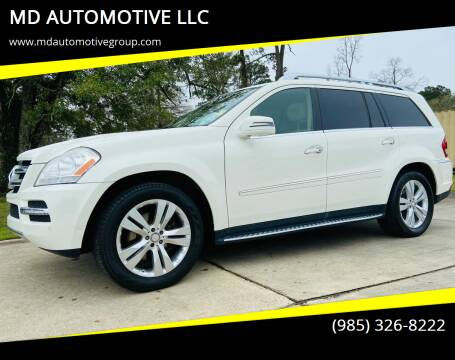 2012 Mercedes-Benz GL-Class for sale at MD AUTOMOTIVE LLC in Slidell LA