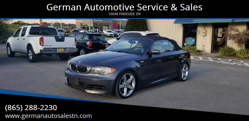 2008 BMW 1 Series for sale at German Automotive Service & Sales in Knoxville TN