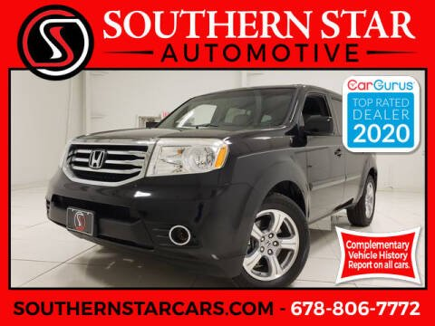 2012 Honda Pilot for sale at Southern Star Automotive, Inc. in Duluth GA