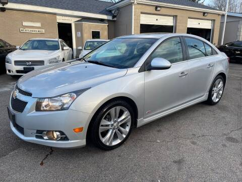 2014 Chevrolet Cruze for sale at Ultra Auto Center in North Attleboro MA