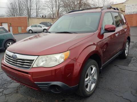 2009 Subaru Forester for sale at Beaulieu Auto Sales in Cleveland OH