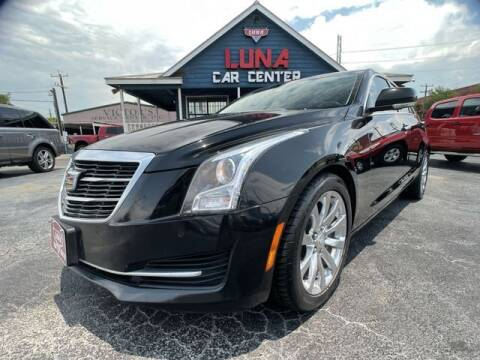 2017 Cadillac ATS for sale at LUNA CAR CENTER in San Antonio TX