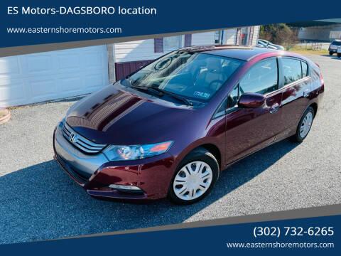 2011 Honda Insight for sale at ES Motors-DAGSBORO location in Dagsboro DE
