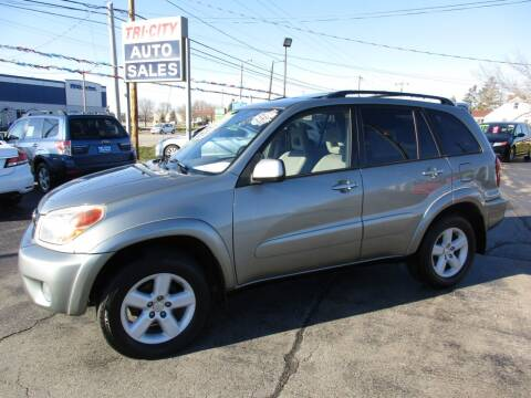 2004 Toyota RAV4 for sale at TRI CITY AUTO SALES LLC in Menasha WI