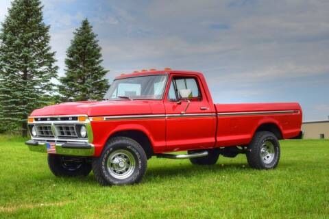 1977 Ford F-150 for sale at Hooked On Classics in Watertown MN