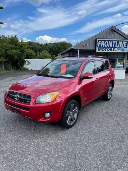 2011 Toyota RAV4 for sale at Frontline Motors Inc in Chicopee MA