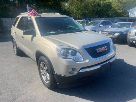 2012 GMC Acadia for sale at Auto Revolution in Charlotte NC