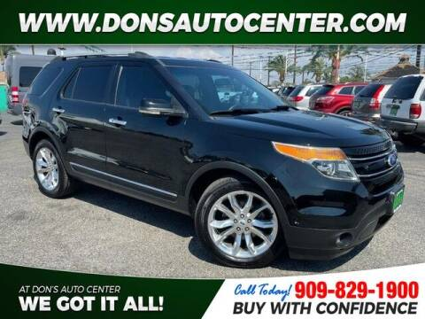 2012 Ford Explorer for sale at Dons Auto Center in Fontana CA