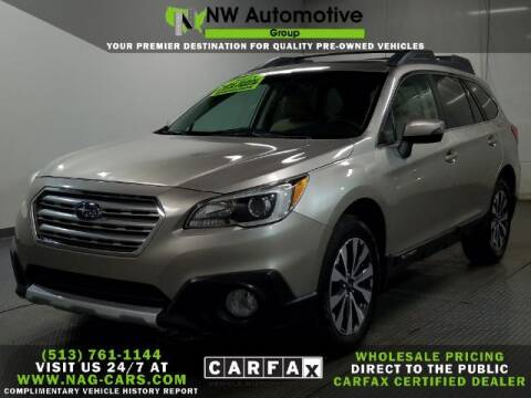 2015 Subaru Outback for sale at NW Automotive Group in Cincinnati OH