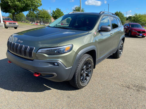 2019 Jeep Cherokee for sale at Steve Johnson Auto World in West Jefferson NC