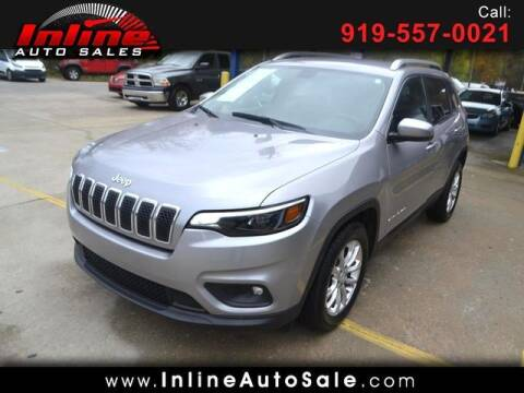 2019 Jeep Cherokee for sale at Inline Auto Sales in Fuquay Varina NC