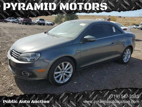 2012 Volkswagen Eos for sale at PYRAMID MOTORS - Pueblo Lot in Pueblo CO