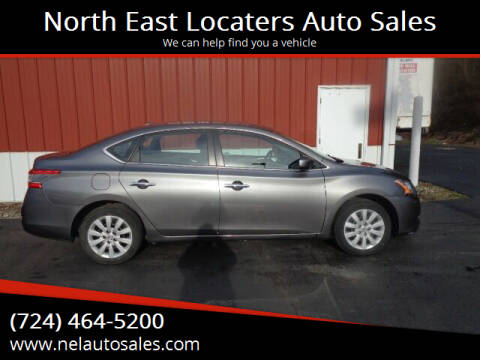 2015 Nissan Sentra for sale at North East Locaters Auto Sales in Indiana PA