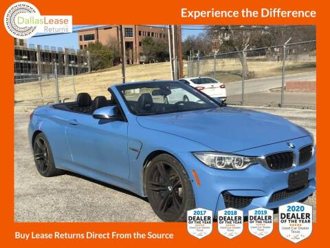 2016 BMW M4 for sale at Dallas Auto Finance in Dallas TX