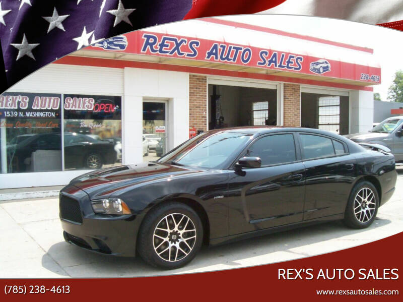 2014 Dodge Charger for sale at Rex's Auto Sales in Junction City KS