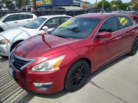 2013 Nissan Altima for sale at Affordable Auto Finance in Modesto CA