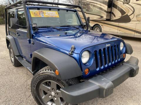 2009 Jeep Wrangler for sale at The Auto Depot in Raleigh NC