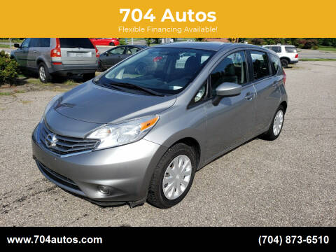 2015 Nissan Versa Note for sale at 704 Autos in Statesville NC
