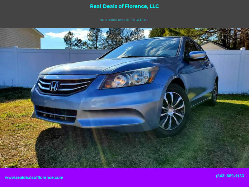 2011 Honda Accord for sale at Real Deals of Florence, LLC in Effingham SC