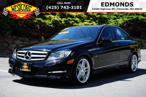 2012 Mercedes-Benz C-Class for sale at West Coast Auto Works in Edmonds WA