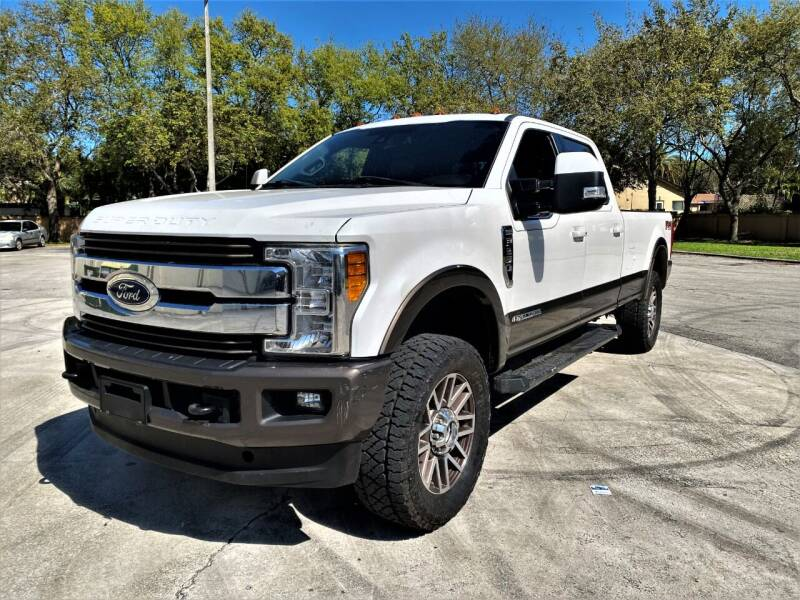2017 Ford F-250 Super Duty for sale at Easy Deal Auto Brokers in Hollywood FL
