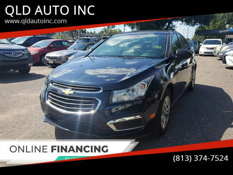 2015 Chevrolet Cruze for sale at QLD AUTO INC in Tampa FL