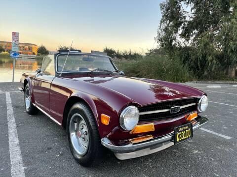 1971 Triumph TR6 for sale at Dodi Auto Sales in Monterey CA
