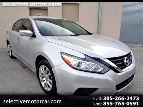 2017 Nissan Altima for sale at Selective Motor Cars in Miami FL