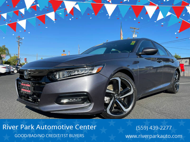 2018 Honda Accord for sale at River Park Automotive Center in Fresno CA