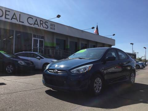 2015 Hyundai Accent for sale at Ideal Cars in Mesa AZ