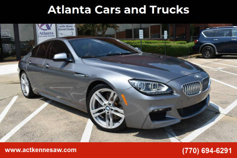 2014 BMW 6 Series for sale at Atlanta Cars and Trucks in Kennesaw GA