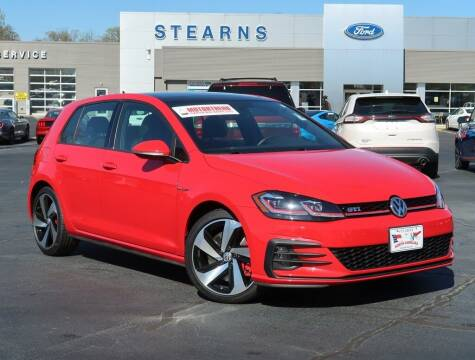 2018 Volkswagen Golf GTI for sale at Stearns Ford in Burlington NC