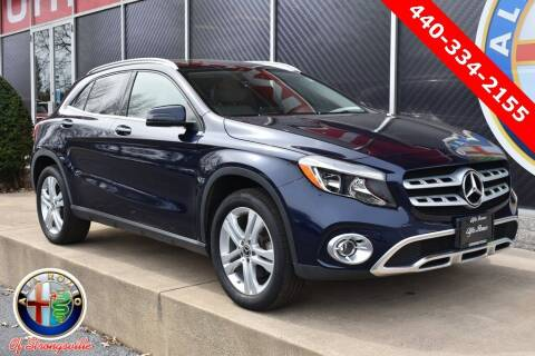 2018 Mercedes-Benz GLA for sale at Alfa Romeo & Fiat of Strongsville in Strongsville OH