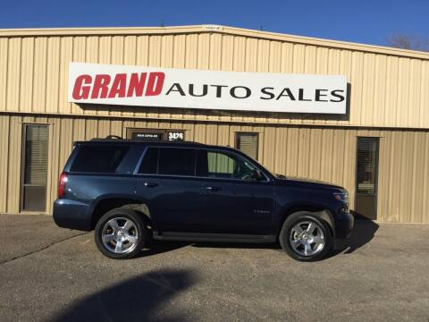 2017 Chevrolet Tahoe for sale at GRAND AUTO SALES in Grand Island NE