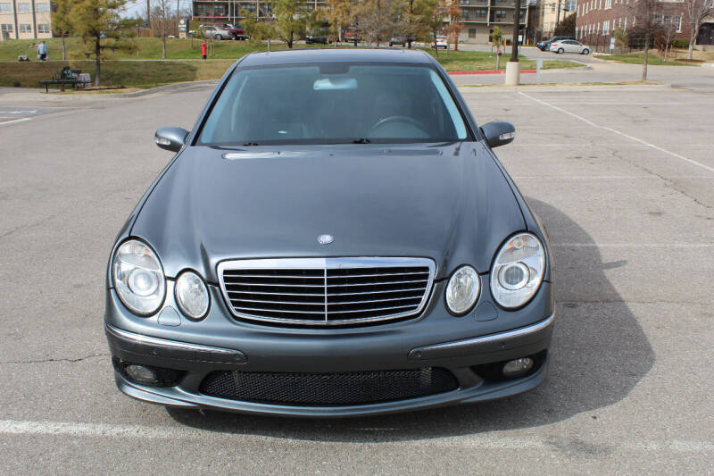 2005 Mercedes-Benz E-Class for sale at CANTWEIGHT CLASSICS in Maysville OK
