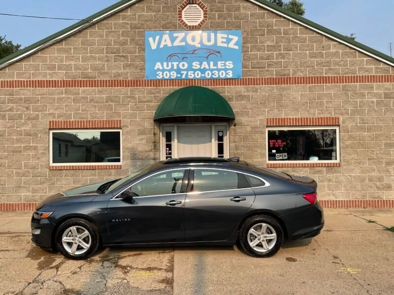 2020 Chevrolet Malibu for sale at VAZQUEZ AUTO SALES in Bloomington IL